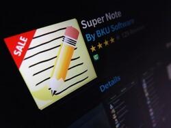 Super Note gets updated