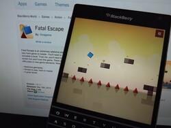 Fatal Escape launches for BlackBerry 10