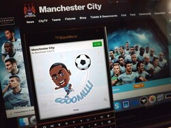 Manchester City BBM Stickers