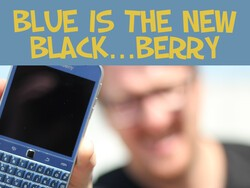 BLUE BlackBerry Classic Unboxing & Giveaway!