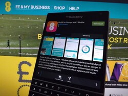 My EE for Orange and T-Mobile comes to BlackBerry 10