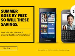 Select BlackBerry 10 smartphones now over 20% off