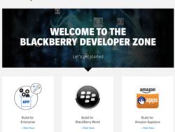 BlackBerry has refreshed their Developer Zone website