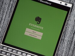 Evernote discontinuing support for Evernote for BlackBerry 10