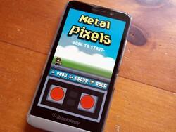 Metal Pixels - new game for BlackBerry 10