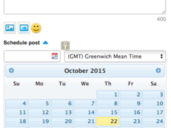 You can now schedule posts for a later time in BBM Channels