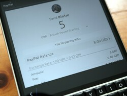 How to make a PayPal payment through BBM