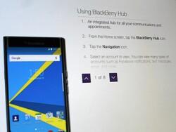 BlackBerry Priv simulator is on the Telus site
