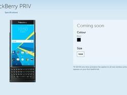 Sasktel will carry the BlackBerry Priv