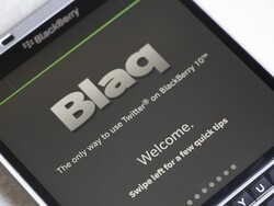 Blaq for BlackBerry 10 updated to include support for 280 characters