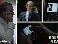 BlackBerry one of the most visible brands in House of Cards