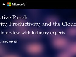Register for the BlackBerry and Microsoft Executive Panel