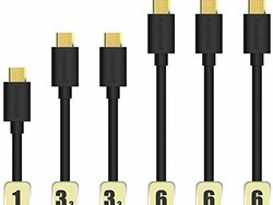 Six microUSB cables for $7 at Amazon right now