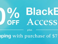 BlackBerry offering 40% off all accessories