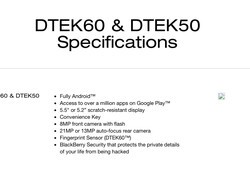 BlackBerry 'Argon' likely to be released as the DTEK60