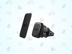 Keep your phone safe in the car with this $10 magnetic car mount!