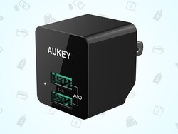 Grab Aukey's folding travel charger for just $6 right now!