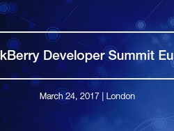 Registration is now open for the BlackBerry Developer Summit Europe