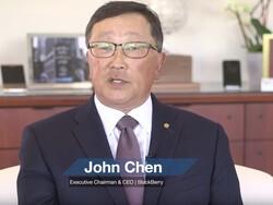 John Chen congratulates BB Merah Putih on the launch of the Aurora