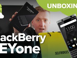 BlackBerry KEYone Unboxing Video Roundup