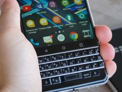 How to change e-mail ringtones on the BlackBerry KEYone