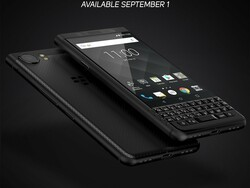 BlackBerry KEYone in space black arrives exclusively at AT&T in September!