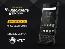 BlackBerry KEYone in Space Black now available from AT&T