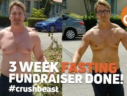 CrackBerry Kevin Fasting Fundraiser Update: 20lbs dropped and $13k raised!