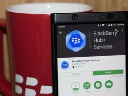 BlackBerry Hub+ Services update fixes battery drain, and Android Oreo bugs!