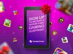 Win an Amazon Fire Tablet and get a Christmas surprise from GameStash