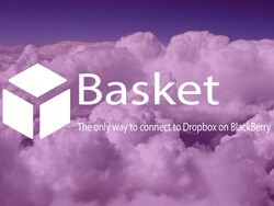 Basket is a native Dropbox client for BlackBerry 10