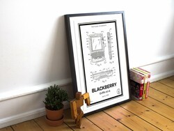 BlackBerry patent hardwood print giveaway!