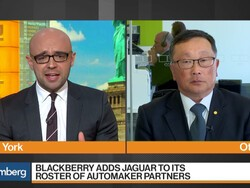 John Chen discusses BlackBerry partnership with Jaguar Land Rover and more