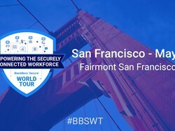 The BlackBerry Secure World Tour kicks off this Thursday in San Francisco