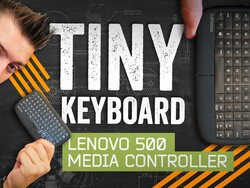 The Lenovo 500 Media Controller is like a BlackBerry without the screen