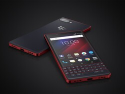 Enter to win an Atomic Red BlackBerry KEY2 LE from BlackBerry Mobile!