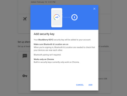 Your Android phone can now be used as a two-step verification key
