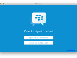 How to use BBM Enterprise on your desktop