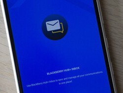 BlackBerry Hub+ app updates add Android 10 dark theme support and more