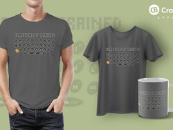 CrackBerry's latest shirt pays homage to the legendary smartphone keyboard!