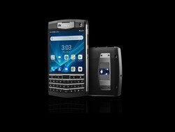 The Unihertz Titan is a BlackBerry Passport knockoff running Android