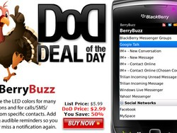 BerryBuzz is the Thanksgiving App Deal of the Day - Get it for 50% Off!