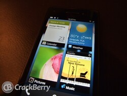 Focusing on the fine points:  BlackBerry 10 home screen needs to be visually stunning