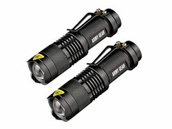 Get two powerful military-grade flashlights for $20