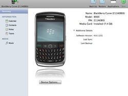 BlackBerry Desktop Manager for Mac