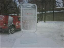 BlackBerry Cake Roundup Part Deux + Ice Sculpture