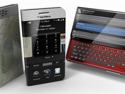 Two New DreamBerry BlackBerry 11 Slider Concepts Emerge!