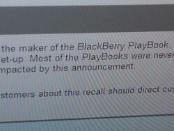 It feels good to be loved... OfficeMax directs their customers to CrackBerry.com for BlackBerry PlayBook information!