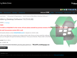 Leaked: BlackBerry Desktop Manager 7.0.0.20 Beta - No keycode required!
