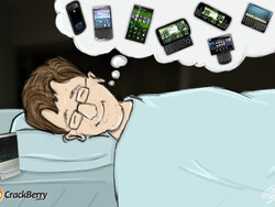 I dream of BlackBerry 10 phones...